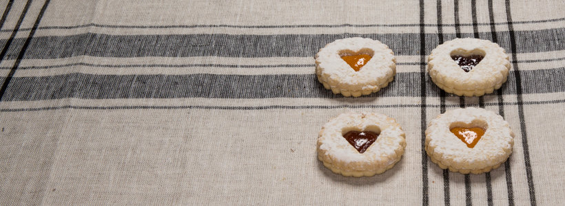 cookies con amore raspberry linzer