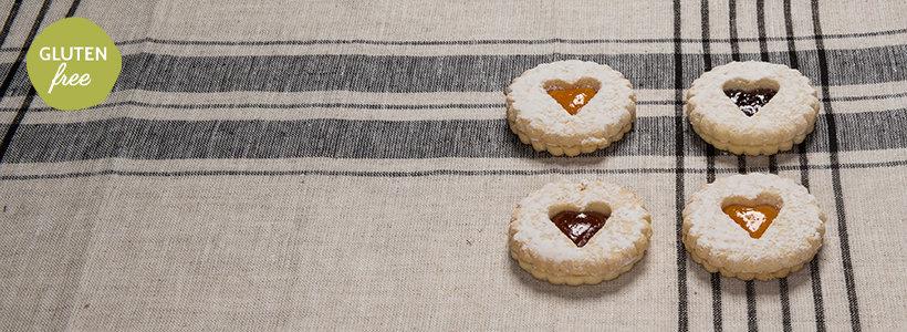 cookies con amore raspberry linzer